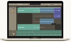 Logic comes with 21 different software instruments, so you'll have access to a lot of music-making resources.