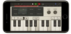 Logic Pro X can also be used on iOS devices, like the iPhone and iPad.