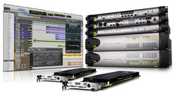 Pro Tools can be paired with other hardware from Avid for an in-depth, professional audio-editing experience.