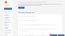Salesforce's website has a FAQs page to answer your questions about Salesforce Marketing Cloud.