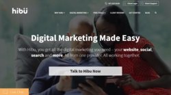 Hibu is an all-encompassing internet marketing service that offers assistance with your website, social media and SEO.