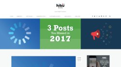 On its website, Hibu has a blog with updated digital marketing information.