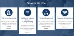 Call Center Sales Pro offers an array of answering services for businesses, including certain marketing tasks and technical support for your products.