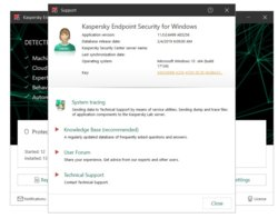 You can reach Kaspersky by phone, email, online chat and directly through the app. In addition, Kaspersky offers a variety of downloads, setup help and virus-removal advice.
