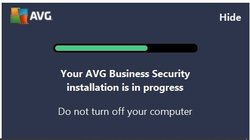 To install AVG Internet Security Business Edition, you'll need to input the license number upfront. From there, it does a quick compatibility scan and installs the software. On our notebook, installation took 5 minutes and 40 seconds.