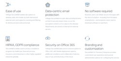Micro Focus's Voltage SecureMail Cloud offers numerous features to keep your email communications secure on desktop, web or mobile.