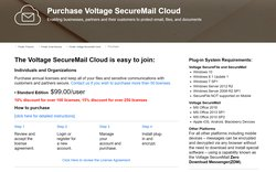 SecureMail Cloud is available as an annual license, priced on a per-user basis.