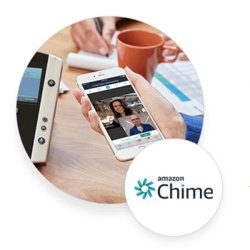 Vonage users have access to Amazon Chime, a video conferencing tool.