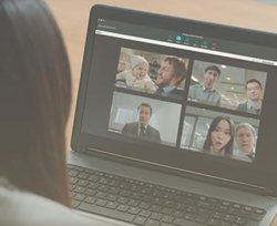 Vonage has several  features that allow users to collaborate.