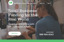 Offering flexible lines of credit and an easy application process, Kabbage aims to make the experience of receiving a small business loan user friendly.