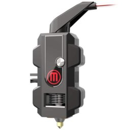 The Z18's extruder is designed to be clog-resistant, featuring a Teflon-like PTFE coating on its internal parts.