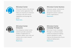 Mitel offers several contact center service options.