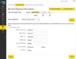 You can customize Tipalti's white-label supplier portal to match your branding. Your vendors will use it to enter their bank data, tax forms and invoices.