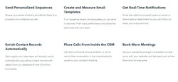 HubSpot's CRM offers a wide array of useful features for keeping in contact with your customers.