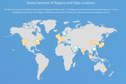 The AWS Cloud boasts 54 availability zones across the globe, and plans to expand that in the near future.