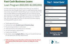 Fast cash business loans allow businesses to quickly receive funds ranging from $50,000 to $2 million.