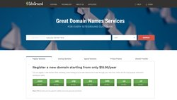 Like most web hosting services, SiteGround can help you register for a domain name. However, new domain names start around $15.95 at SiteGround, while other solutions typically offer a free domain name for a year.