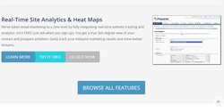 Features include real-time site analytics.