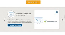 Campaigner includes the ability to target emails based on purchase behavior.