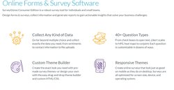SurveyGizmo is an ideal service if you're looking to conduct surveys.