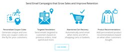 Remarkety is designed specifically for e-commerce businesses. It provides a number of tools to help you capture and convert leads and keep customers coming back to your online store.