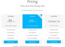You can view pricing and compare service tiers on the company's website.