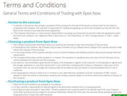 You can read the terms and conditions posted on the company's website.
