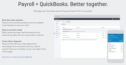 Intuit offers plans that combine its payroll service and QuickBooks Online accounting software. These two programs integrate with each other, so if you are also looking for accounting software, it may make sense to consider one of these plans.