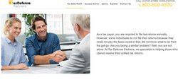 The company has services for those who have never filed their tax returns.