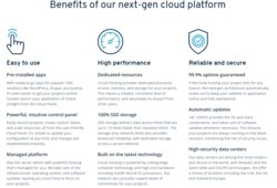 1&1 IONOS is our pick as the best cloud hosting company in 2019. It offers a full range of hosting services, affordable pricing plans to choose from, 24/7 support with all of its hosting plans and solid integrations.