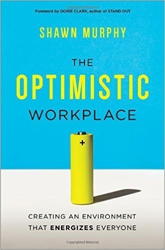 Book cover: The Optimistic Workplace
