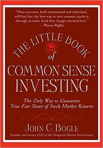 Book cover: The Little Book of Common Sense Investing