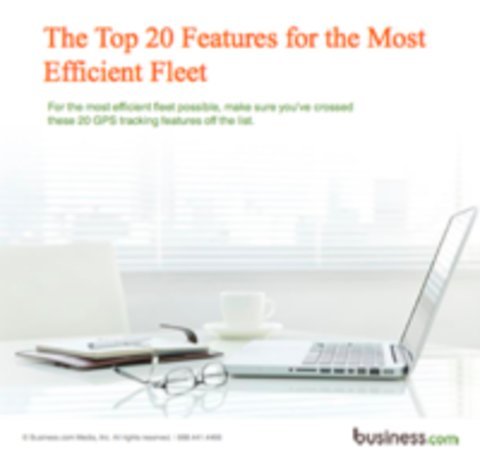 The Top 20 Features for the Most Efficient Fleet