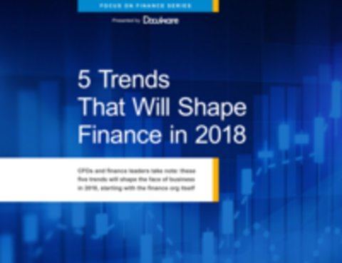5 Trends That Will Shape Finance in 2018