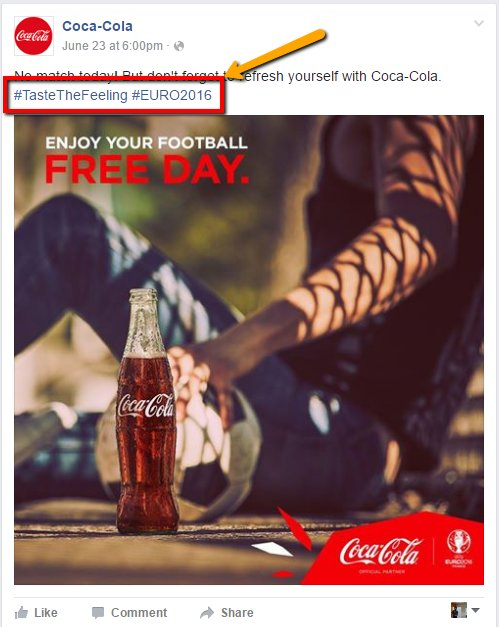 Coca-Cola Facebook Ad