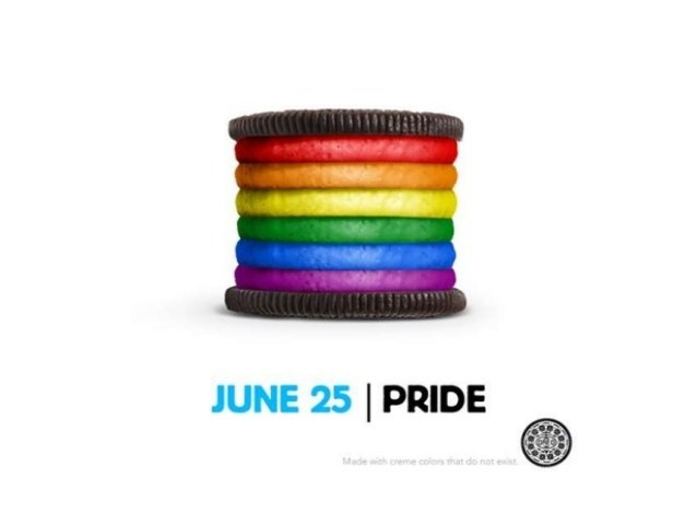 Oreo Cookie Pride Day Promotion