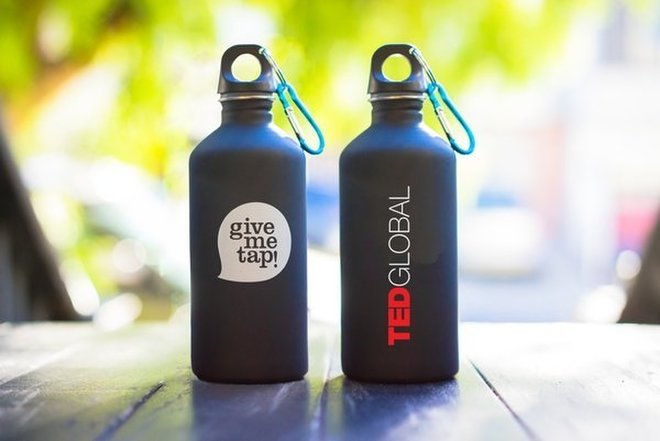 GiveMeTap TED bottles