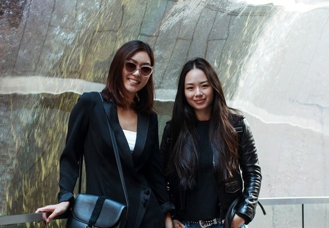 COVRY founders Athina Wang and Florence Shin