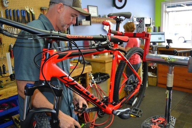 Small Business Snapshot: Bryson City Bicycles
