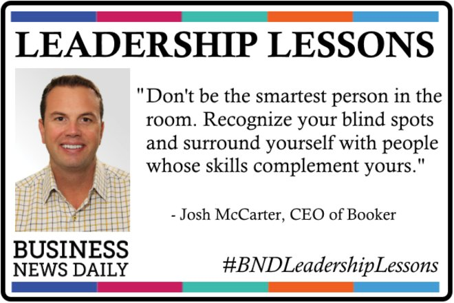 Leadership Lessons: Don't Be the Smartest Person in the Room