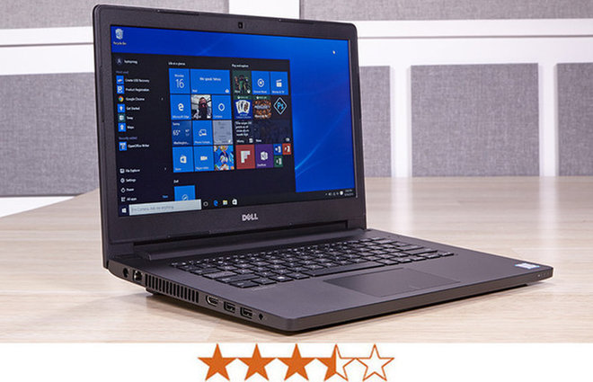 image for The Dell Latitude 14 3000 earns 3 out of 5 stars. / Credit: Jeremy Lips