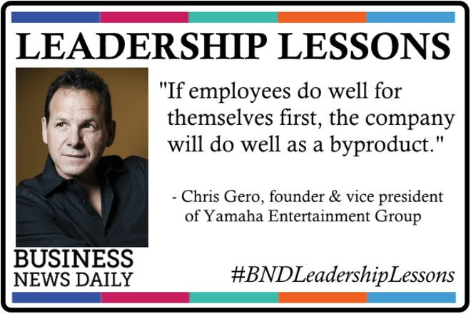 Leadership Lessons: Encourage Your Team to Be Great for Themselves