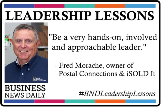 Leadership Lessons: Be Hands-On and Approachable