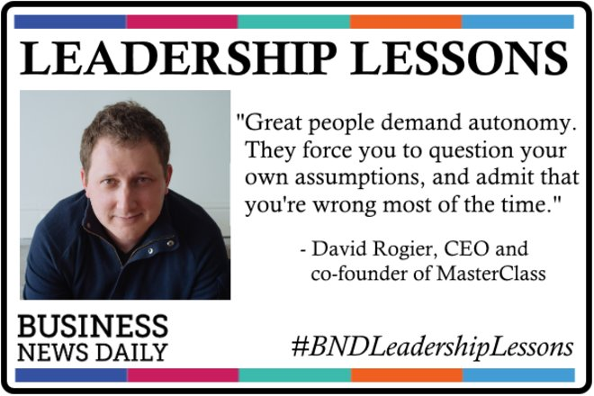 Leadership Lessons: Trust Your People and Question Your Assumptions