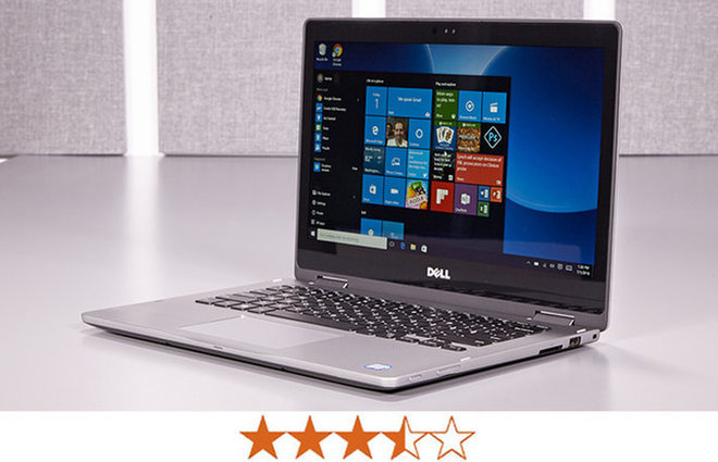 image for The Inspiron 13 7000 2-in-1 earns 3.5 out of 5 stars. / Credit: Jeremy Lips