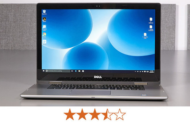 image for The Inspiron 15 7000 earns 3.5 out of 5 stars. / Credit: Jeremy Lips