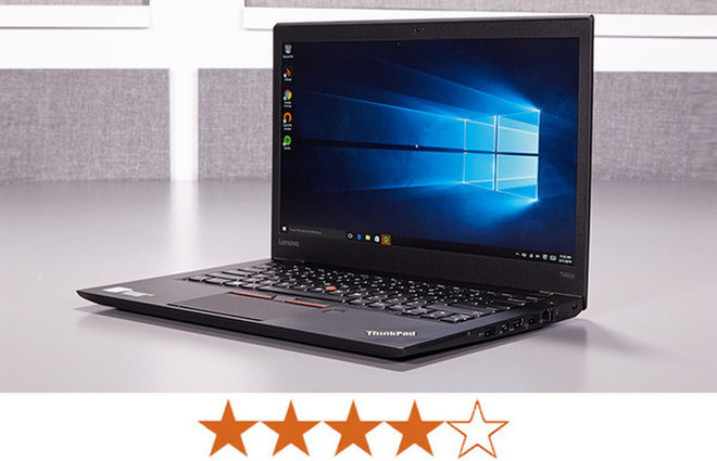 image for The ThinkPad T460s earns 4 out of 5 stars. / Credit: Jeremy Lips