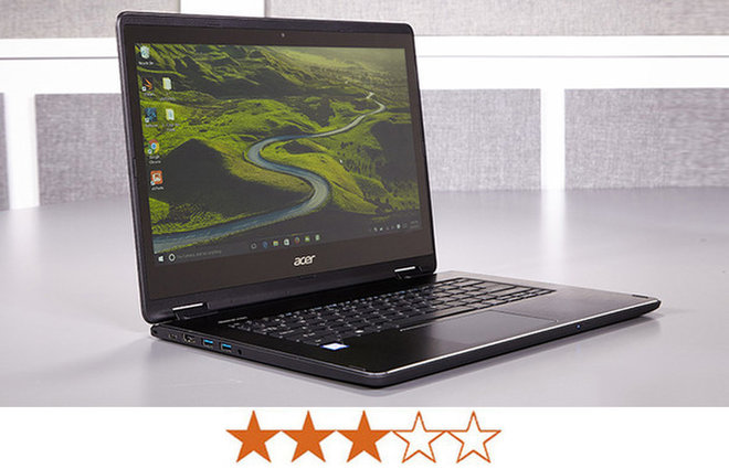 image for The Acer Aspire R 14 earns 3 out of 5 stars. / Credit: Jeremy Lips