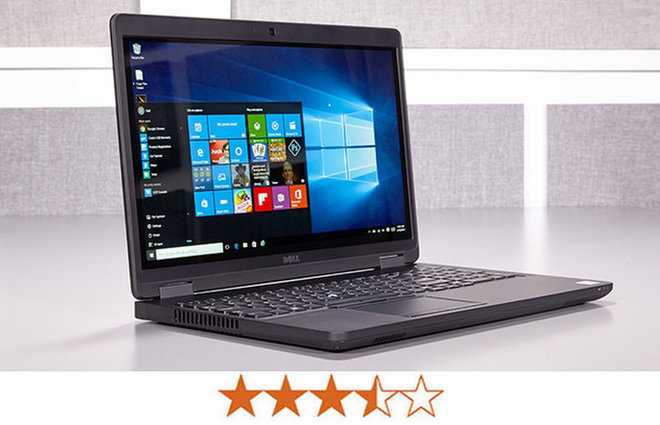 image for The Dell Latitude E5570 earns 3.5 out of 5 stars. / Credit: Jeremy Lips