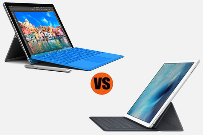 Microsoft Surface Pro 4 vs  Apple iPad Pro: Which is Better for